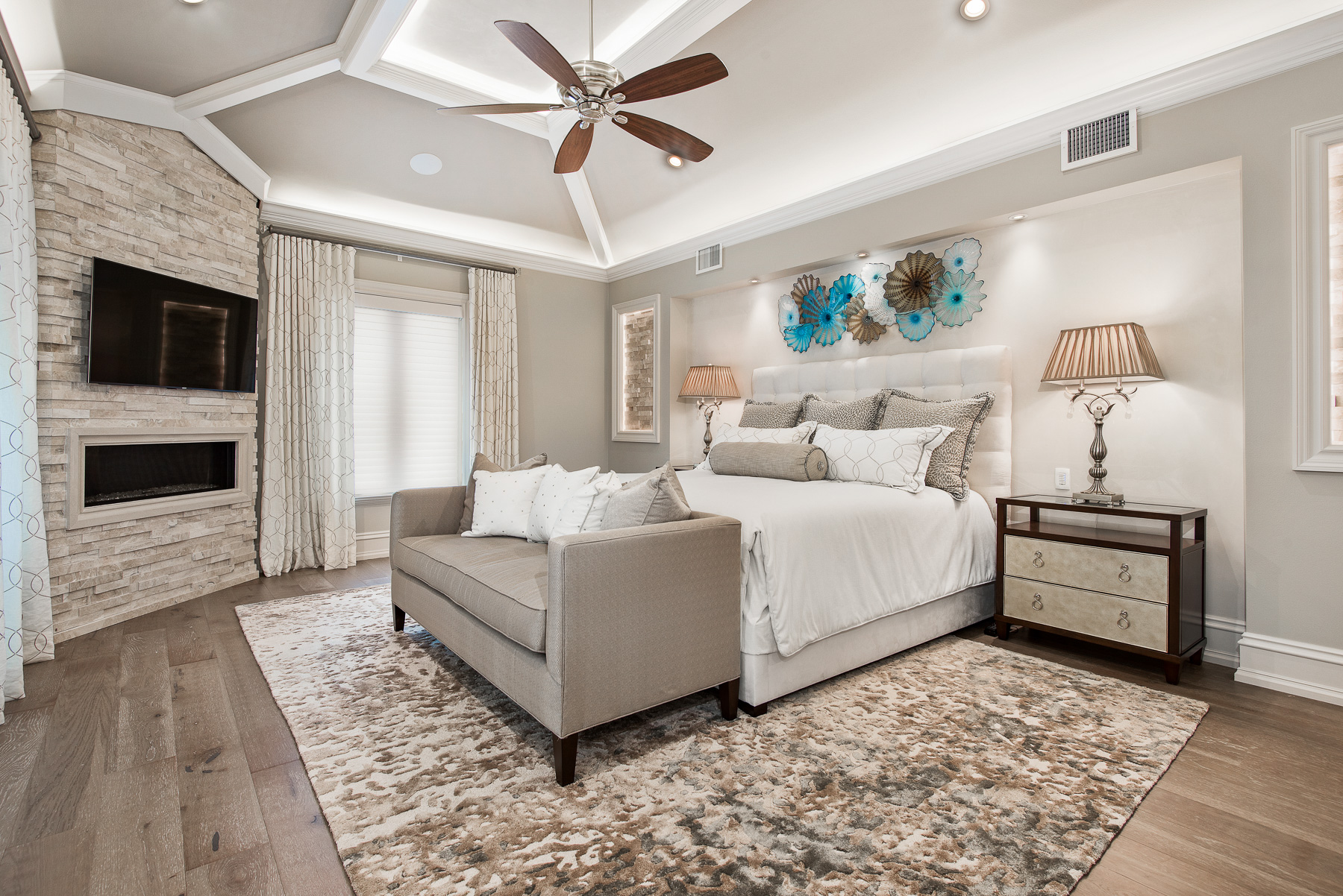 Compass Point Master Bedroom